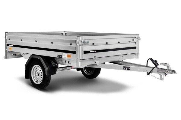 Ladtrailer, Brenderup 3205 S, lastevne (kg): 355