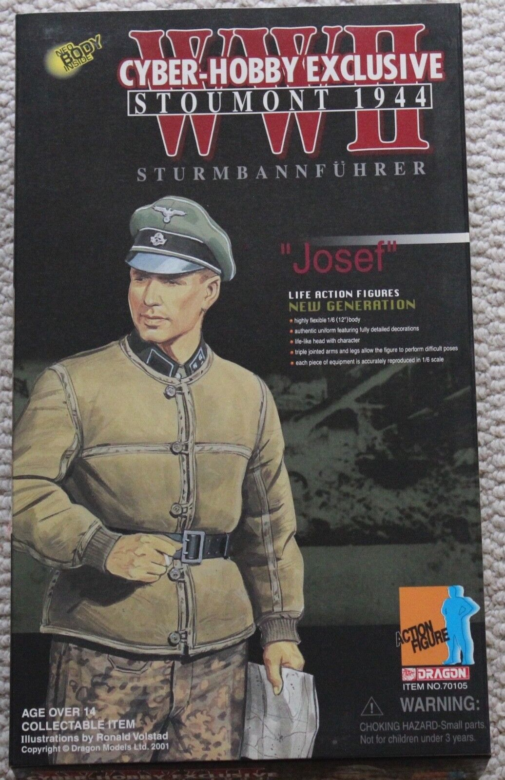 Dragon Action figure ww11 allemand Josef 1 6 12  70105 DID Cyber Hobby Hot toy