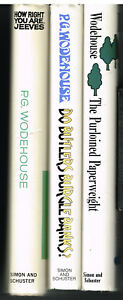 Lot-of-3-P-G-Wodehouse-Rare-1st-Ed-Books