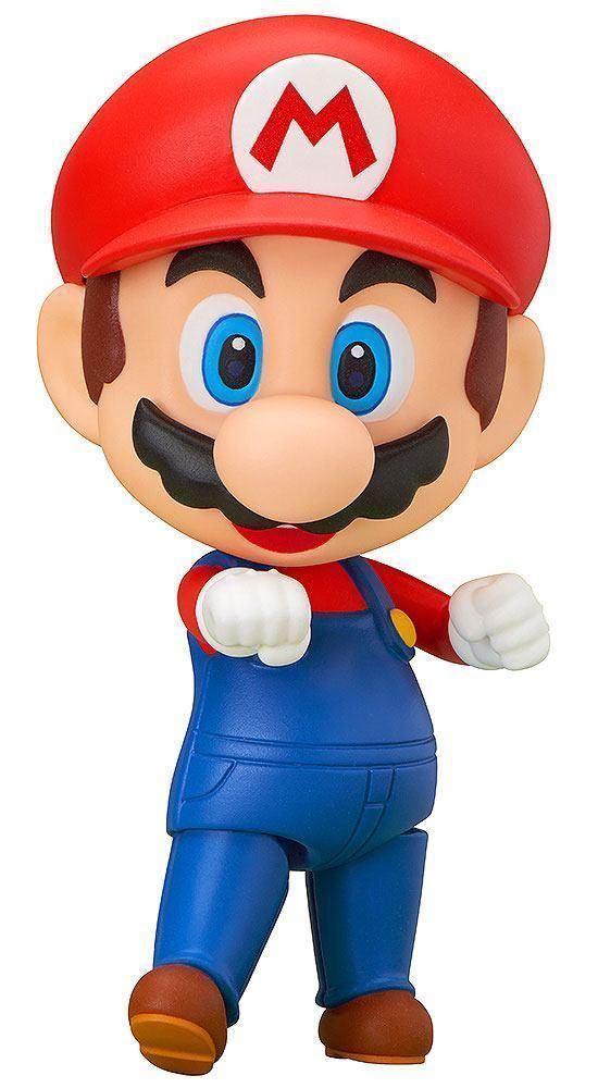 Super Mario Bros. NendGoldid Action Figure Mario 10 cm Good Smile Company