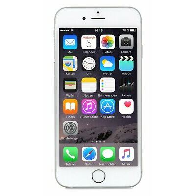 Sim Free Apple iPhone 6 4.7 Inch 16GB 8MP 4G Pre-Owned Mobile Phone - Silver
