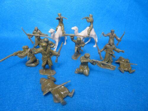 6 Novo Em Poses Khaki Plus 2 Camelos Novo Remade//convertido Marx Árabes