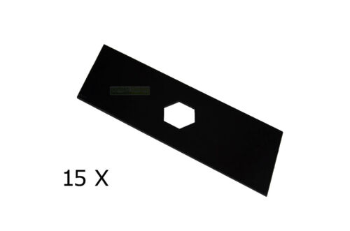 15 X 16,3 CM Vertikutiermesser Satz für Sandri Garden T 401 Dolmar EV 3918