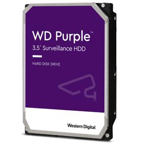 HARD DISK 3,5 WESTERN DIGITAL PURPLE PURZ 1TB 2TB 3TB 4TB VIDEOSORVEGLIANZA