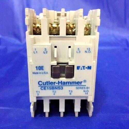 LOT of 2** CUTLER-HAMMER CE15BNS3 CONTACTOR SERIES B1