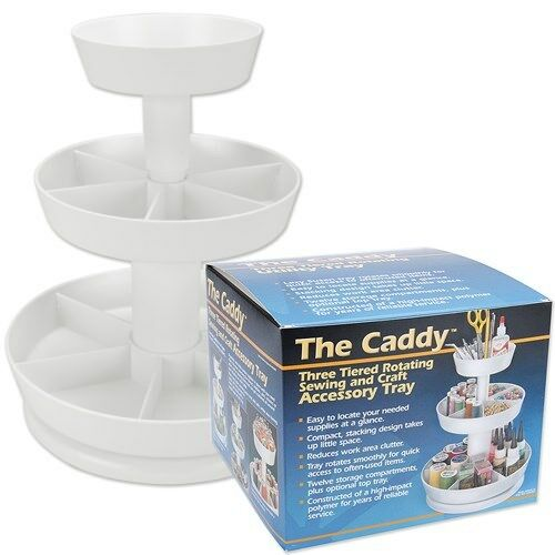 The Caddy Sewing Quilting and Craft Holder PS500 PS-500 Pedal Sta Storage Tray