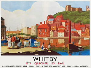 TU2-Vintage-Whitby-Yorkshire-LNER-Railway-Travel-Poster-Re-Print-A3-A2