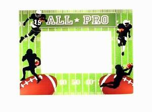 291e0bae0ad6 Lot of 24 Pieces - Football Themed Party Card Picture Frames with ...