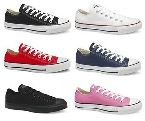 76e8e5603a0a Converse Classic Chuck Taylor All Star Low Trainer Sneaker OX NEW ...