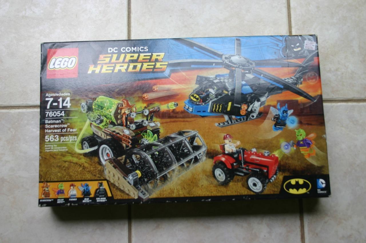 LEGO 3 IN 1 CREATOR SET BATMAN SCARECROW HARVEST OF FEAR NEW IN BOX 76054