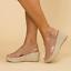 Womens-Wedge-Platform-Sandals-Ankle-Strap-Slingback-Peep-Toe-Summer-Shoes-Size thumbnail 12