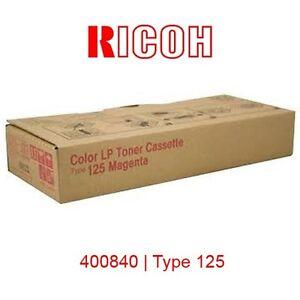 TONER-RICOH-MAGENTA-AFICIO-CL2000-CL3100-400840-TYPE-125-ORIGINAL-NUEVO