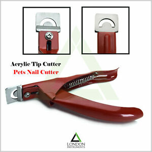 Acrylic-Nail-Tip-Cutters-Professional-Nail-Grooming-Stainless-Steel-Black-CE