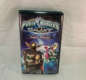 Sabans Power Rangers Lost Galaxy The Return Of The Magna ...Power Rangers Lost Galaxy Magna Defender Vhs