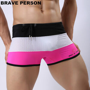 new-Men-Swimming-Trunks-Boxer-Shorts-summer-swimwear-Surf-Board-Beach-Wear-M-XL