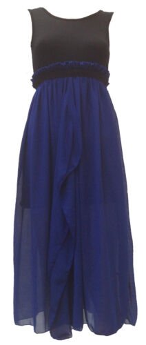 SALE Women Chiffon Evening Pleated Dress Size 8 10 12 For Party Cocktail UK