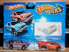 Hot Wheels COLOR SHIFTERS OFF TRACK & BASSLINE Multicolor