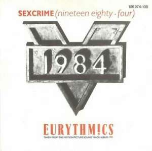 Eurythmics-Sexcrime-Nineteen-Eighty-Four-7-7-034-Vinyl-Schallplatte-44135