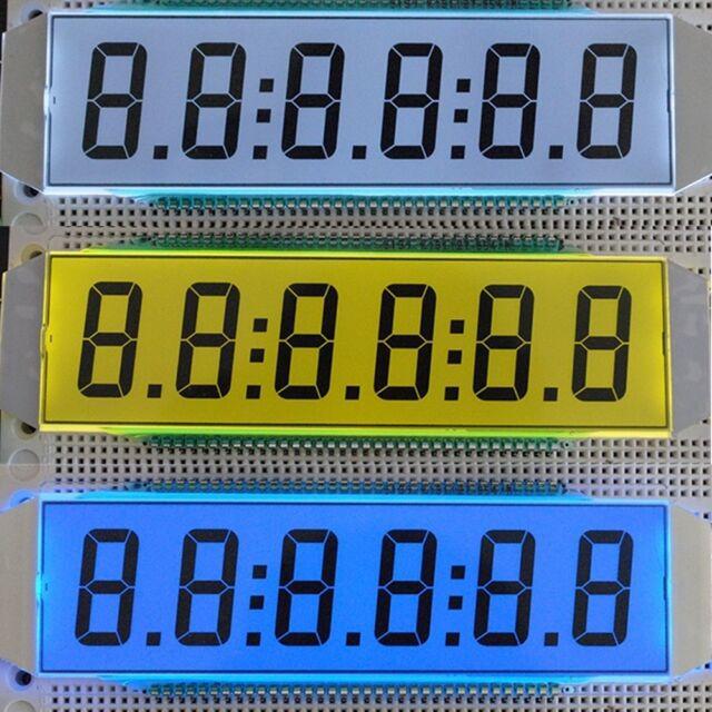 ED139 6-Digit Segment LCD Static Driving TN Positive Display 5V