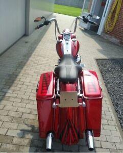 Harley-Davidson-Touring-Bagger-STRETCHED-5-039-039-hintere-Fender-95-08