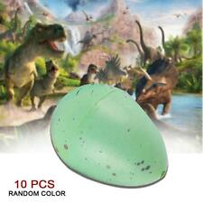 10pcs Hatching Dinosaur Eggs Growing Dino Eggs Add Water Magic Inflatable Toy TL