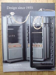 SOTHEBYS-Auktion-Katalog-Design-since-1945-London-29-10-97-mit-Ergebnisliste