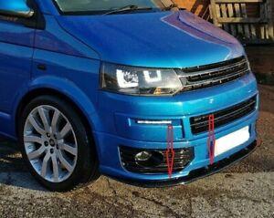 VW-T5-T5-1-2009-2015-SPORTLINE-ABS-FRONT-SPLITTER-SPOILER-LOWER-SPLITTER