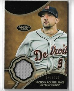 2019-Topps-Tier-One-Baseball-Nicholas-Castellanos-Tier-One-Relic-Card-347-375