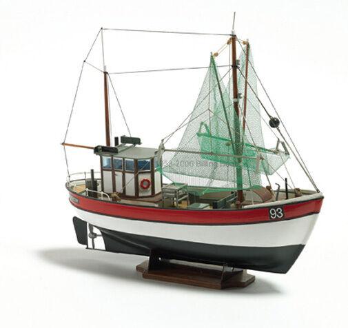 Billing Boats - B 201 - Rainbow Fishing Cutter Model Boat Kit 1 60 Scale T48Post