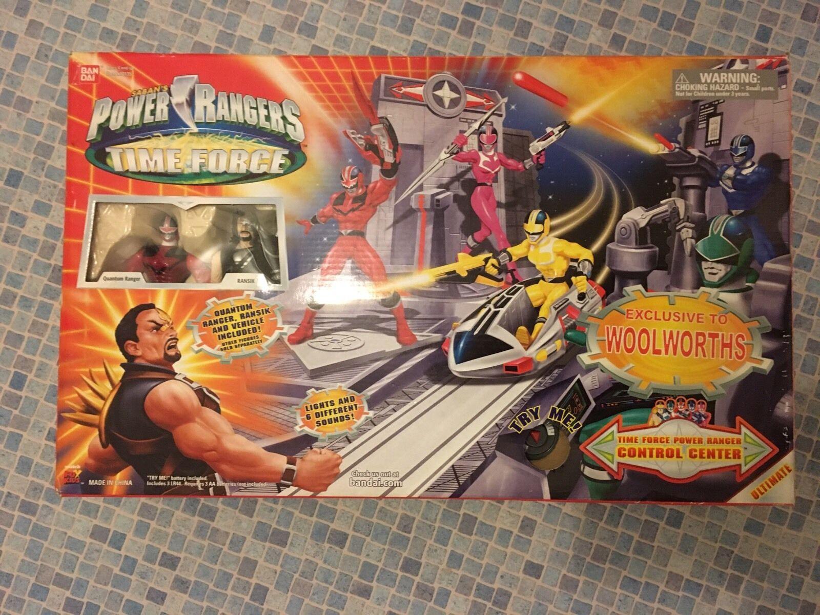 Power Ranger-Time Force-Centro Control (  10136) - NOTA  falta 2 artículos