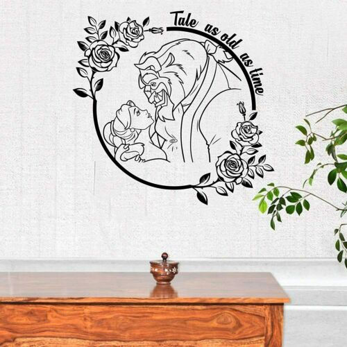 Tale Quote Beauty and the Beast Home Room Wall Sticker Vinyl Art Decal Decors