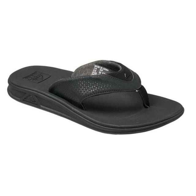 Reef Men/'s Reef Rover All Over Flip Flop Sandals Black Sizes 8 9 /& 10 RF002295