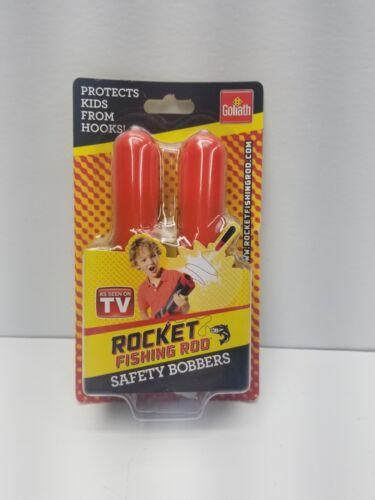Rocket Fishing Rod Kids de sécurité Les Flotteurs Goliath protège de crochets de sécurité nouveau