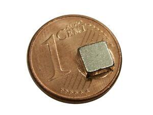 S471 Quadermagnete 20 Stück 5x5x2mm sehr starke Magnete z.B. Zugbeeinflussu<wbr/>ng