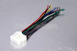 s l300 panasonic car radio stereo 16 pin wire wiring harness 2 ebay panasonic 16 pin wire harness at mifinder.co