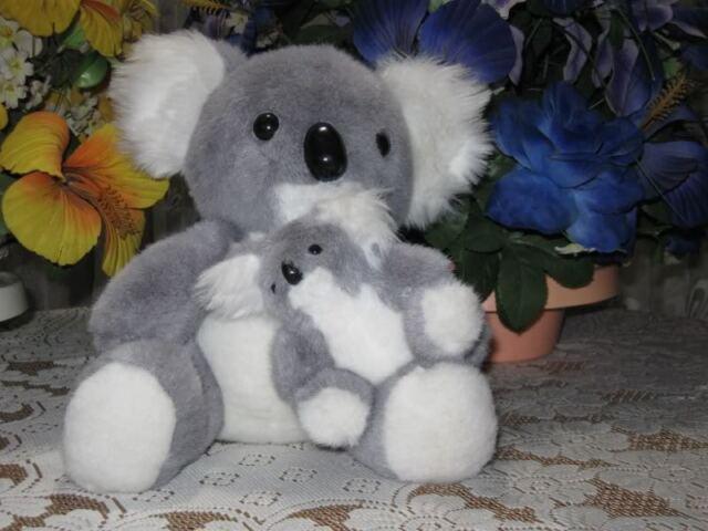 Dutch Holland Van Der Meulen Koala Mom and Baby Bear