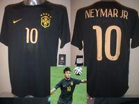 Brazil NEYMAR JR Adult Large BNWT Nike Football Soccer Shirt Jersey Brasil 3 New