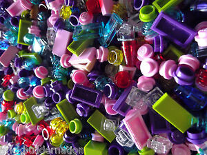 500-LEGO-GIRL-FRIENDS-LEGOS-SMALL-ADD-ON-PIECES-FROM-HUGE-BULK-LOT-PARTS-RANDOM