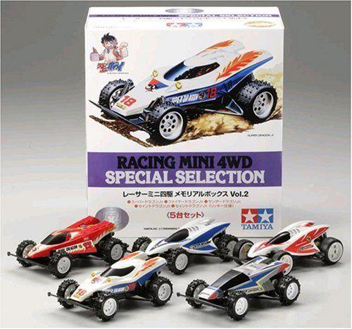 Tamiya 1/32 Racer Mini 4WD Speciale Selezione Memorial Box Vol.2 Giappone F/S