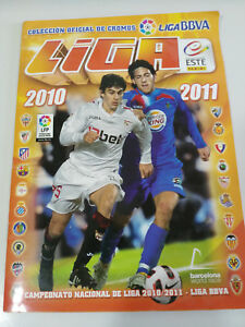 ALBUM-DE-CROMOS-DE-LA-LIGA-DE-FUTBOL-ESPANOLA-2010-2011-CROMOS-INCOMPLETO