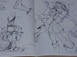 Hiroyuki Imaishi Anime Art Book Regular Edition Art Book