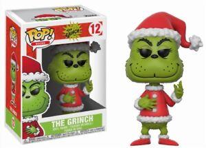 Santa Grinch The Grinch Dr. Seuss Weihnachten POP! Books #12 Vinyl Figur Funko
