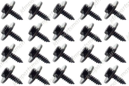 GENUINE BMW E46 E60 E90 Hex Head Metal Screw 4.8 X 16 mm Set of 20 #07147129160