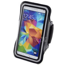 Brazalete Deportivo Neopreno NEGRO para Samsung Galaxy S6 (G920F) a361