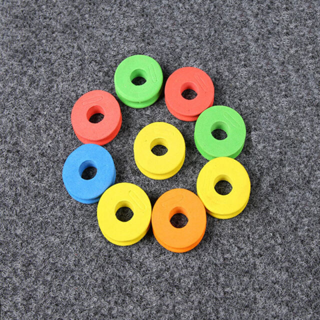 20pcs Hot Durable Foam Winding Board Fishing Line Spools Bobbin Tackle Box  New.