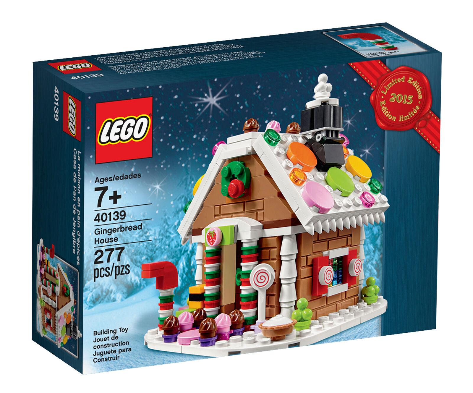 LEGO LEGO LEGO 2015 Holiday Gingerbread House (40139) d75ad1