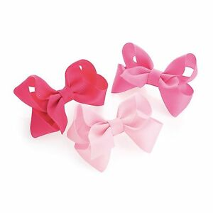 Accessoires 3x Baby girls hair bow clip little girls toddler babies bow hair clips pink bows