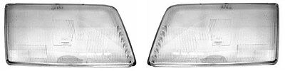 Audi 100 C4 Front Headlight Glass PAIR ( Left + Right ) 1991 - 1994
