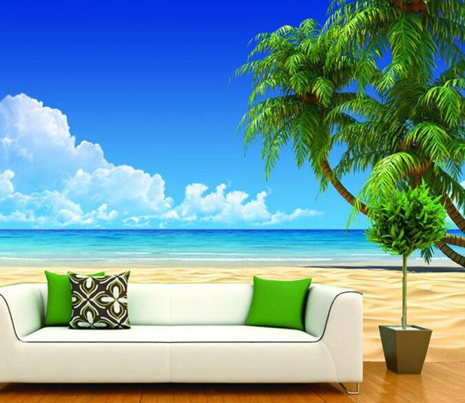 3D Die frische Luft am Meer 6 Fototapeten Wandbild Fototapete BildTapete Familie