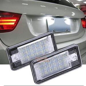 2pcs 18 led car error obd license number plate light lamp. Black Bedroom Furniture Sets. Home Design Ideas